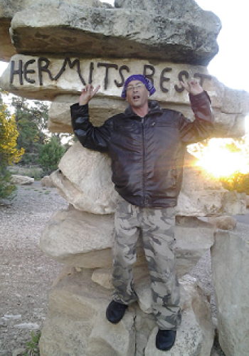 "alt= ""Legg's Griffano at The Grand Canyon"""